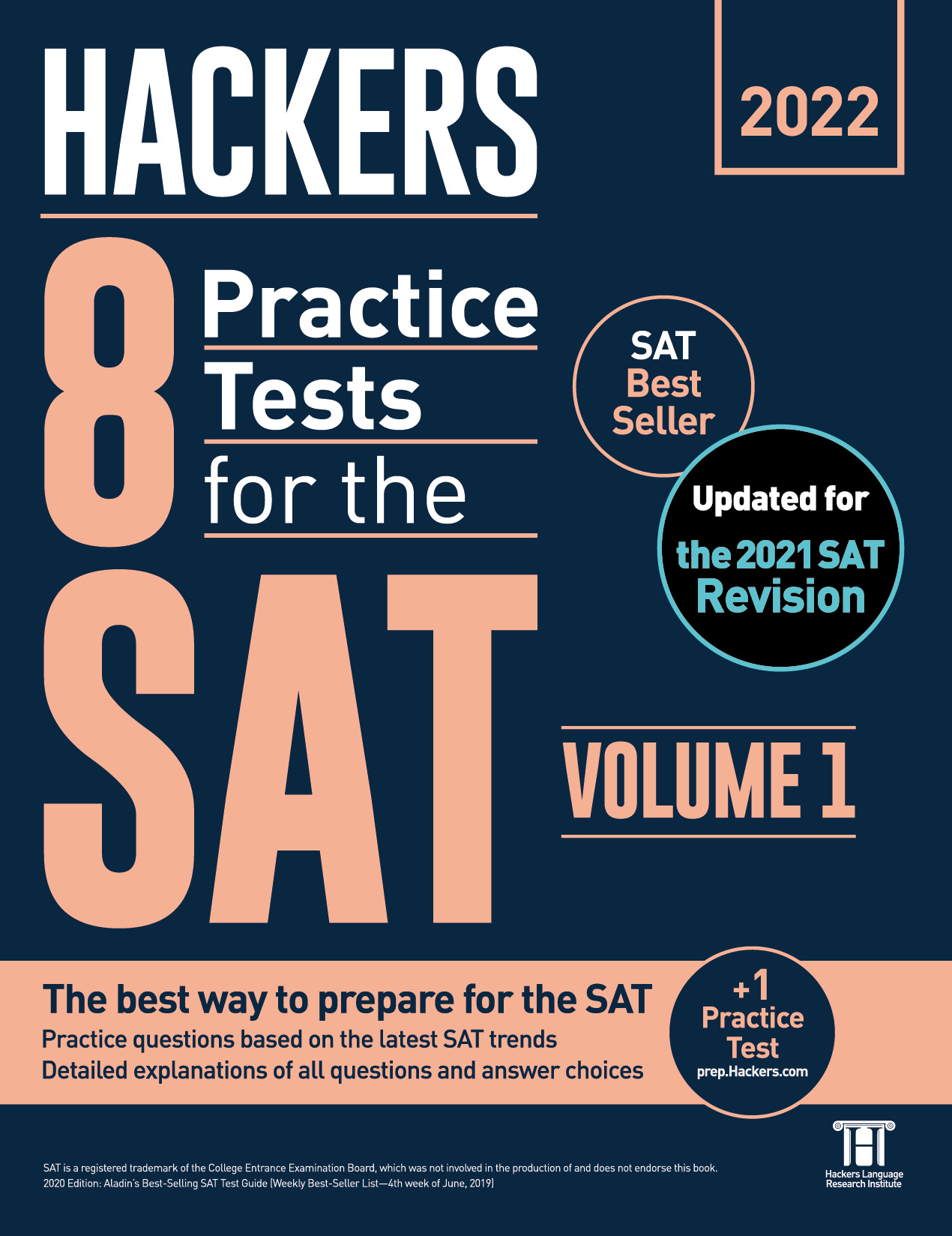 Hackers 8 Practice Tests for the SAT Volume 1